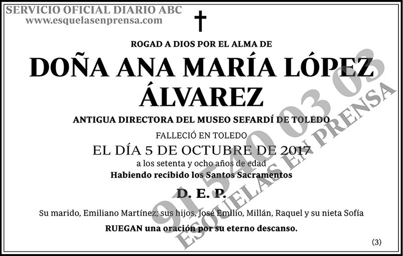 Ana María López Álvarez